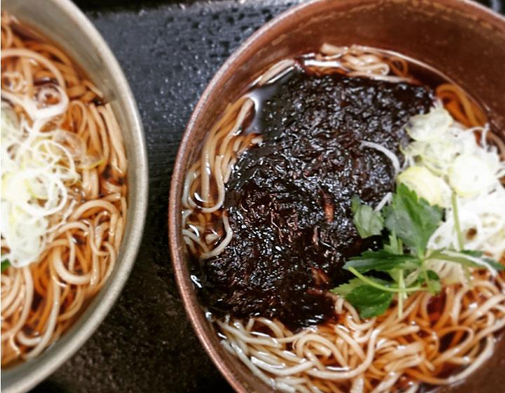 生海苔蕎麦(温・冷)写真
